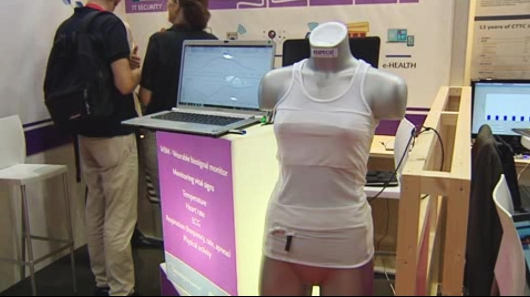 Una camiseta inteligente capaz de medir las emociones