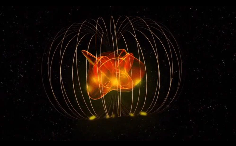 Curioso comportamiento de una extraña estrella /  C. Carreau (ESA)