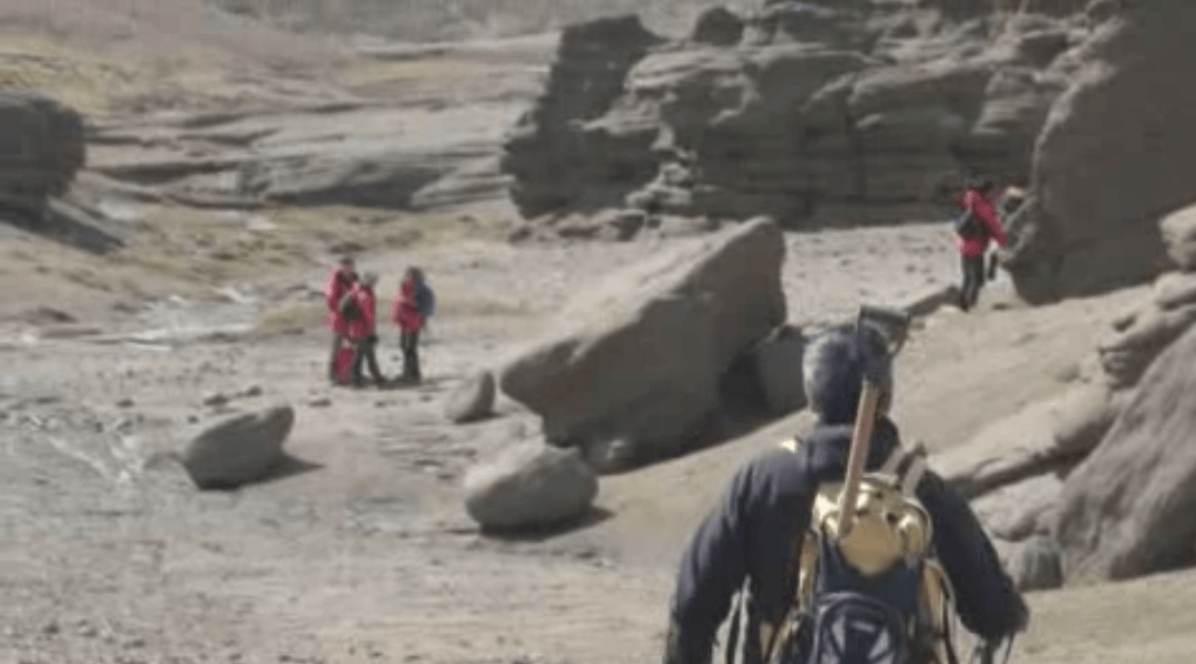 Una expedición chilena busca en la Patagonia