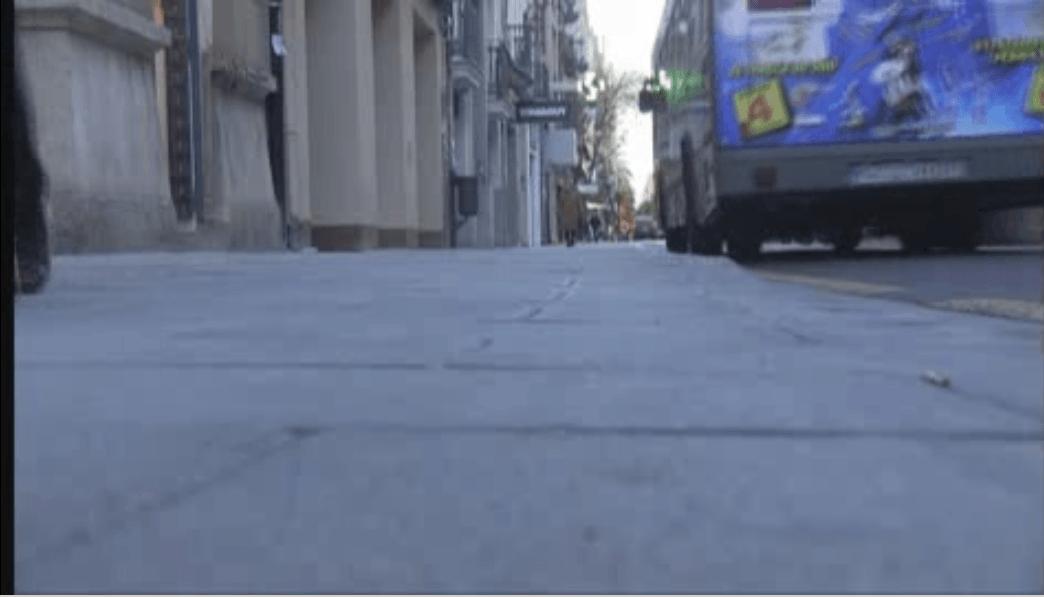 Valencia prueba unas baldosas anticominación