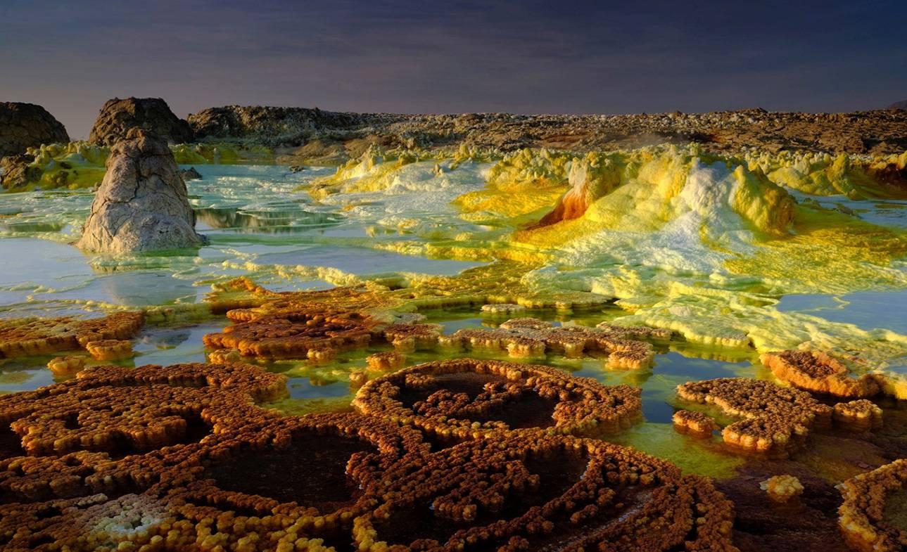 Los microorganismos que habitan en la región más calurosa de la Tierra