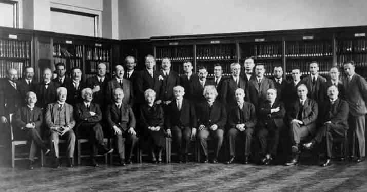 conferencia de Solvay de 1930