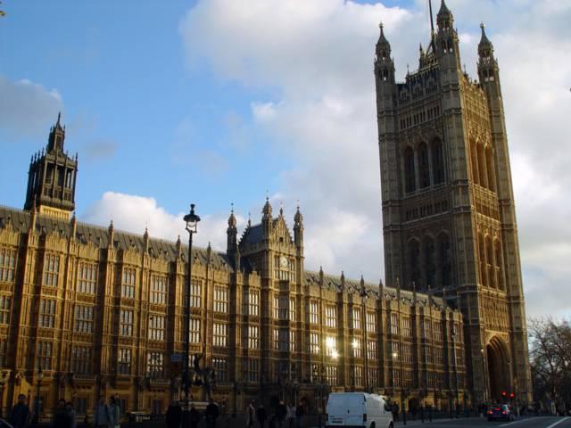 El Parlamento británico. Foto: Bentley Smith.