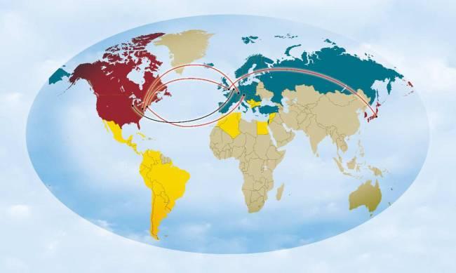 GÉANT Global Connectivity.