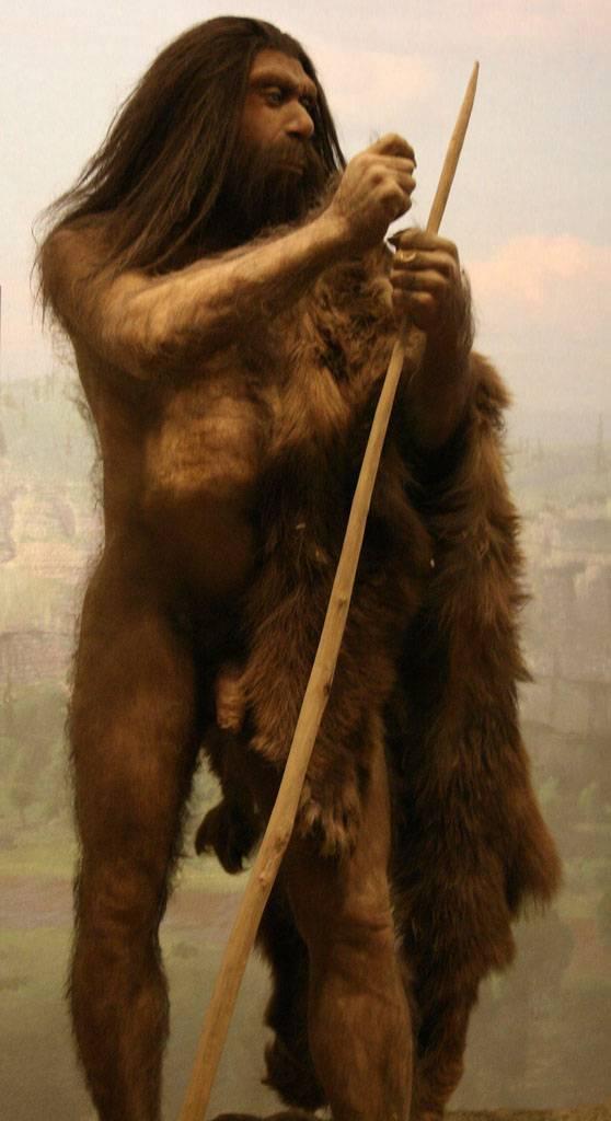 Hombre de Neandertal. Foto: Sara Pilliard.