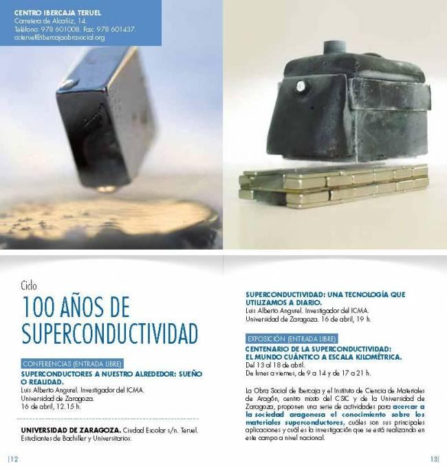 100 años de superconductividad en Teruel
