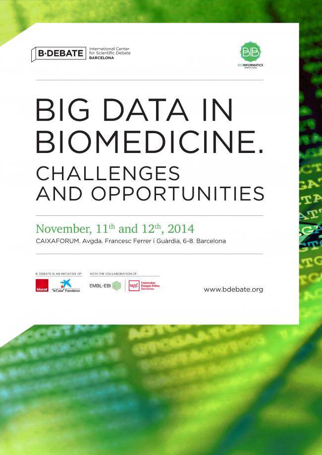 Póster debate: Big Data in Biomedicine. Challenges and Opportunities