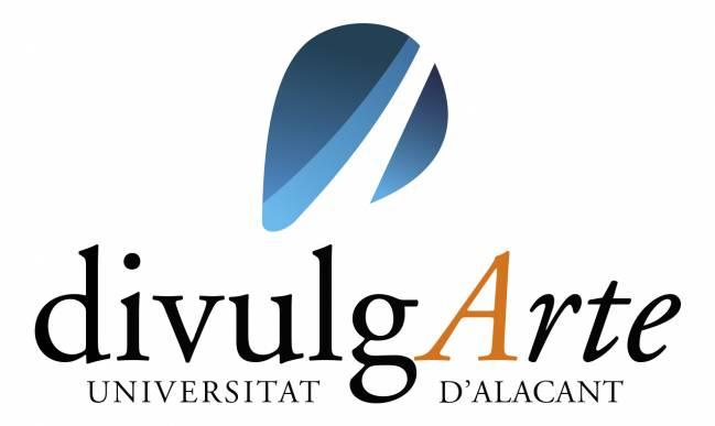 Logotipo de DivulgArte. Ciclo de Encuentros entre investigador y artista.