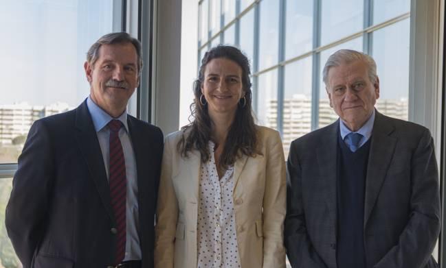 los tres autores principales en el CNIC