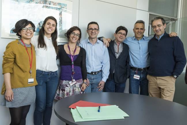 Equipo investigadores del CNIC