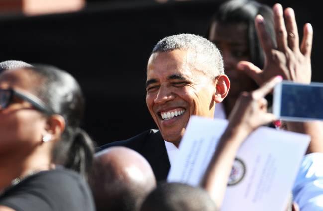 El presidente de EE UU, Barak Obama, en un reciente acto en Selma, Alabama. / Efe