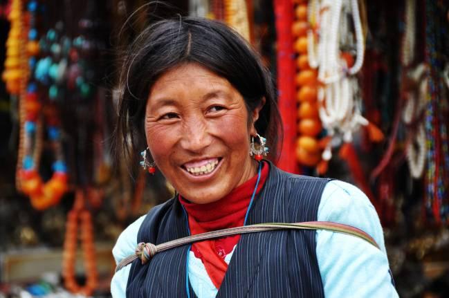 Mujer tibetana. / Prasad Kholkute
