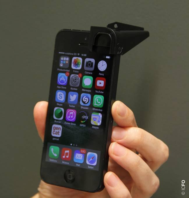 Dispositivo de iSPEX