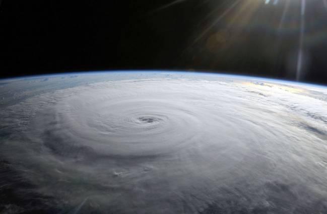 Vista del Huracán Danielle desde la ISS. / NASA
