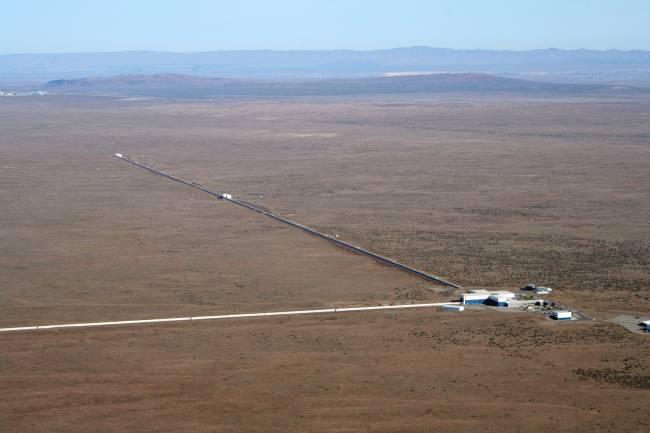 El observatorio de LIGO en Hanford (Washington, EUA). Foto: