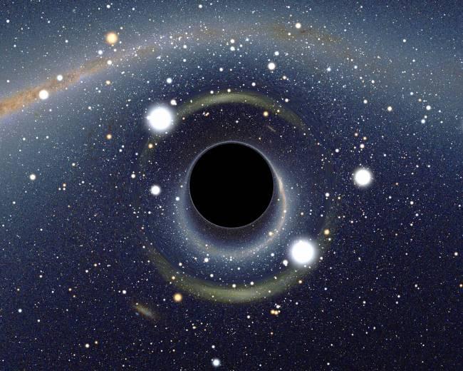 La radiación de Hawking implica que los agujeros negros emitan radiación espontánea. / Alain R.