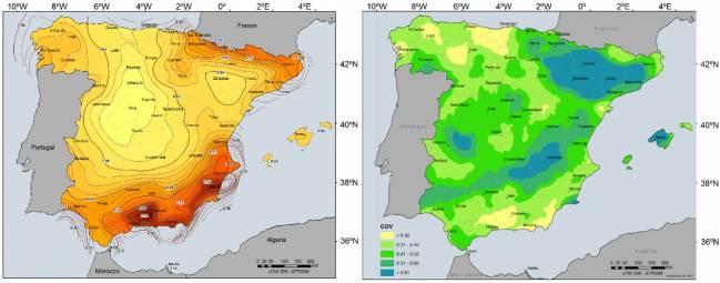 Mapas de peligrosidad sísmica y de incertidumbre asociada