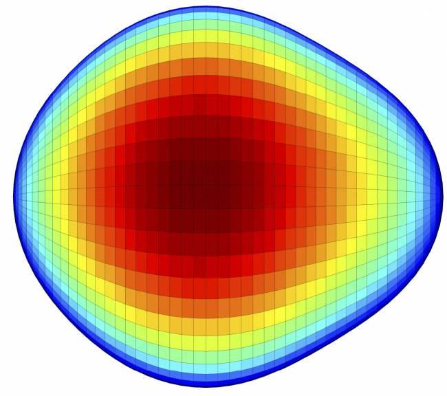 Algunos núcleos atómicos tienen forma de pera