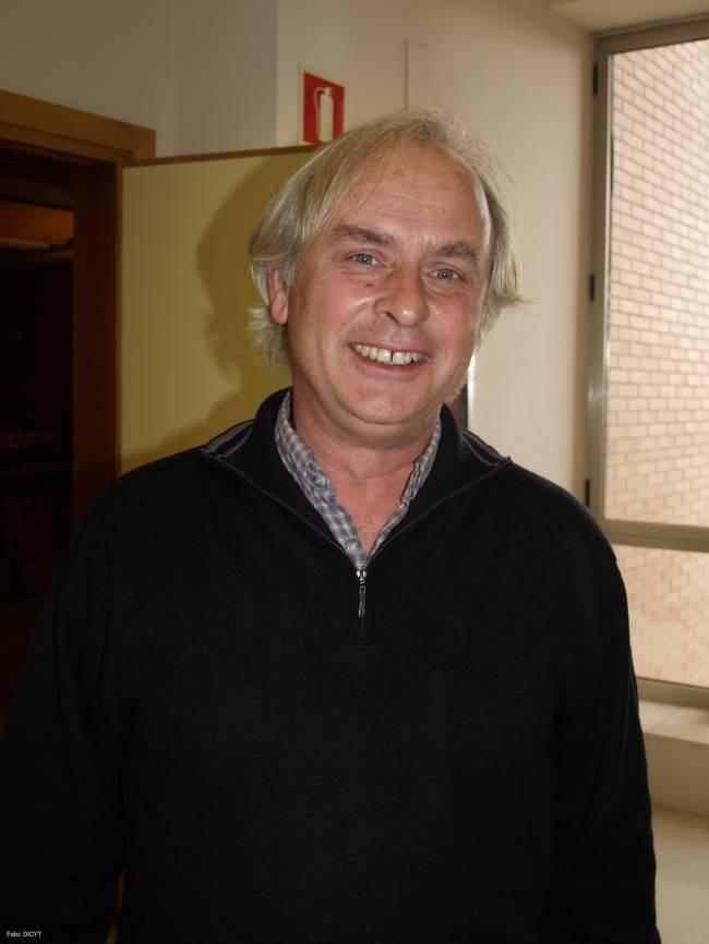 Manuel Palacín ha explicado su trabajo en el Centro de Investigación del Cáncer de Salamanca.