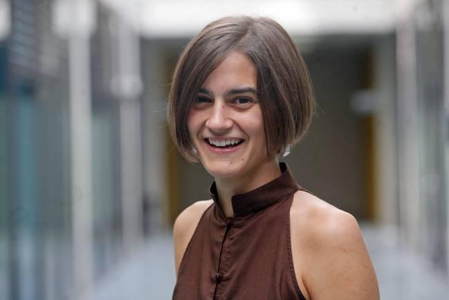 Idoia Ariz, autora de la tesis doctoral