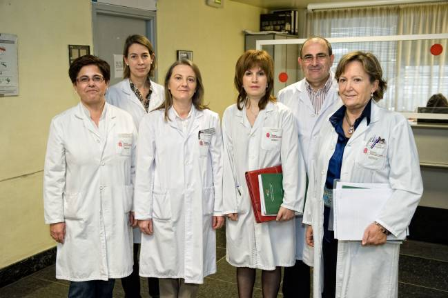 Componentes del equipo de la Unidad de Patología Tiroidea
