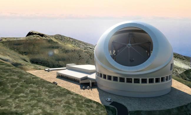 Telescopio de Treinta Metros en La Palma