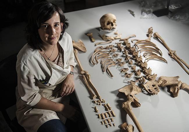 La investigadora Maite Iris García Collado