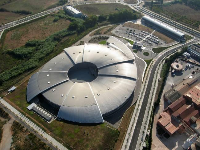 Imagen aérea del sincrotrón ALBA