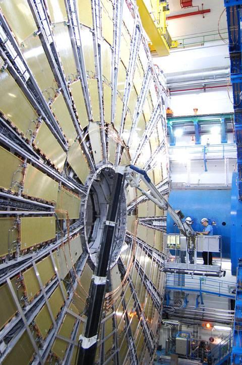 El detector ATLAS. Foto: SINC.