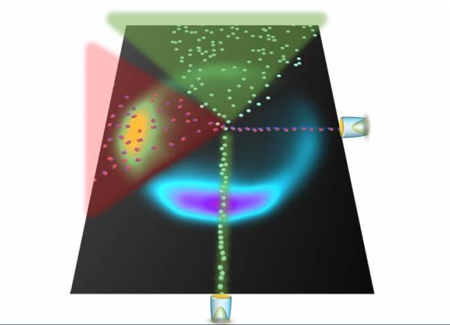 Explican la colisión de un átomo de argón con una molécula de óxido nítrico