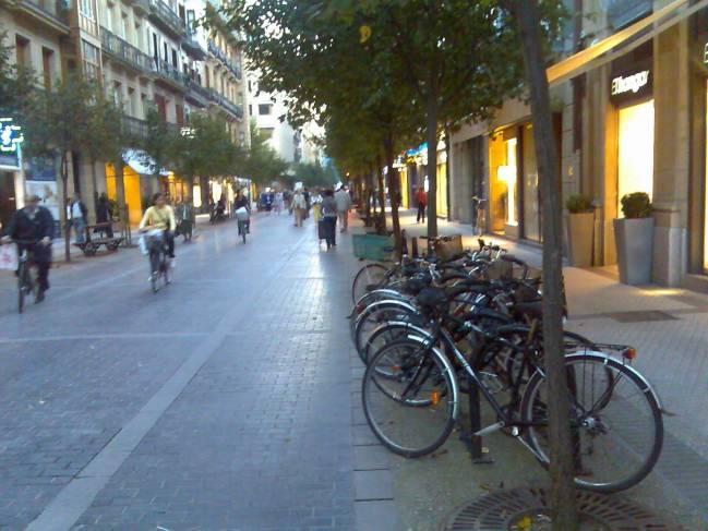 La calle de una ciudad. Fuente: Sonia De Gregorio.