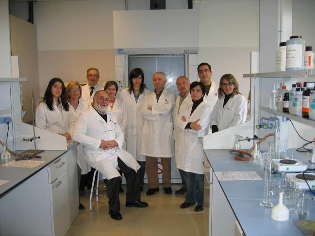 Equipo de investigadores de la USC que trabajan en el estudio de la intoxicación por metales pesados