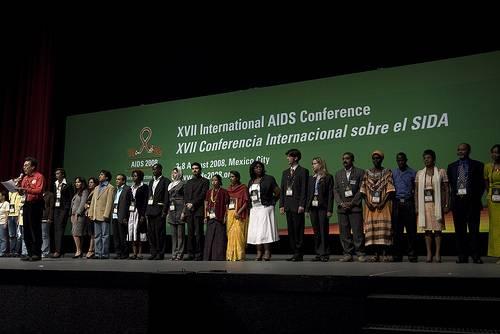 Ceremonia de apertura de AIDS2008. Imagen: International AIDS Society / Mondaphoto.