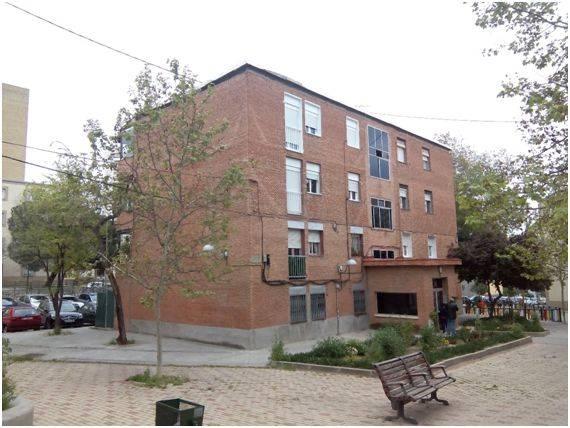 Imagen de la edificación analizada para la validación del estudio de caso en el barrio de Canillas.