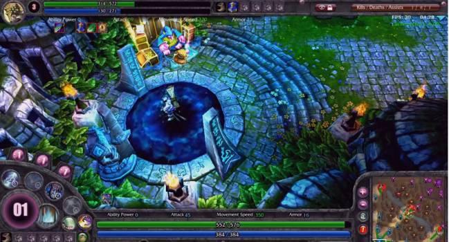 Un pantallazo del videojuego 'League of Legends'.