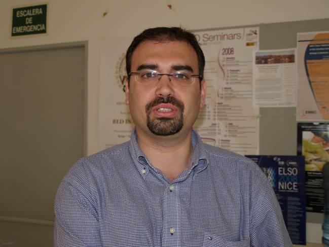 Manuel Fuentes, investigador del CIC (Salamanca)