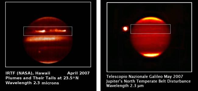 Júpiter infrarrojo