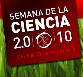 Logo de la Semana de la Ciencia 2010