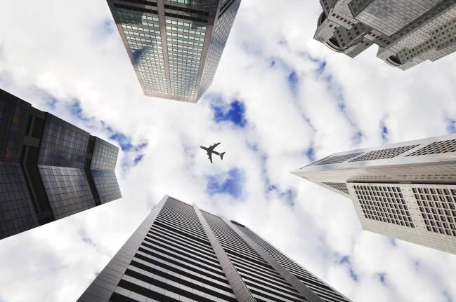 La morfología urbana influye en los niveles de ruido provocados por los aviones.