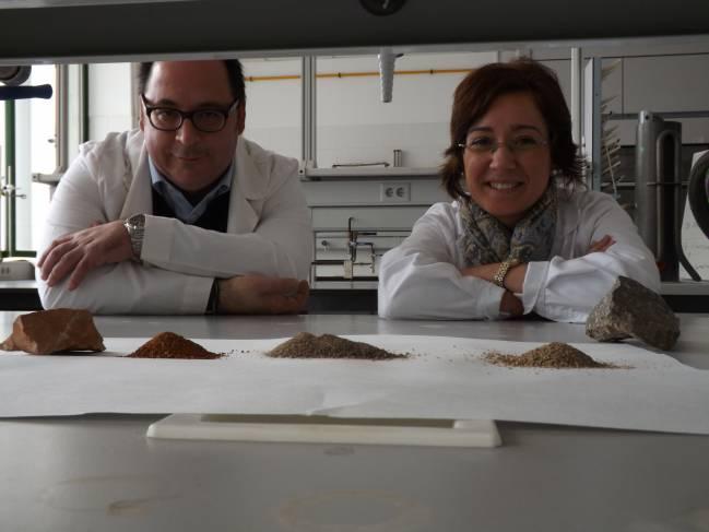 Luis Parras y Beatriz Lozano