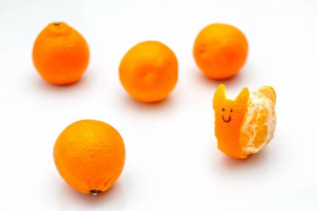 Para este estudio se ha utilizado la cáscara de naranja, limón y mandarina. / Marco Verch Professional Photographer and Speaker.