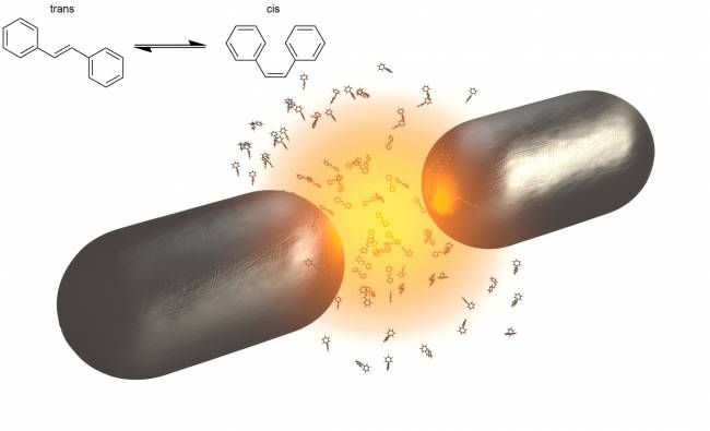 La interacción de moléculas orgánicas con luz confinada puede detener reacciones fotoquímicas