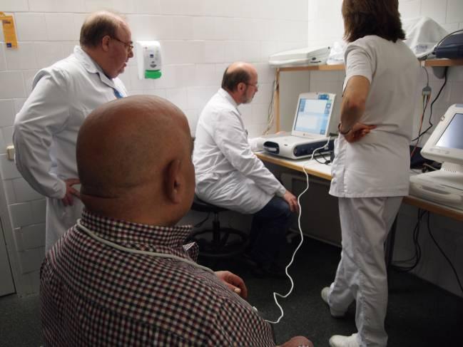 Realización de prueba de seguimiento al paciente.