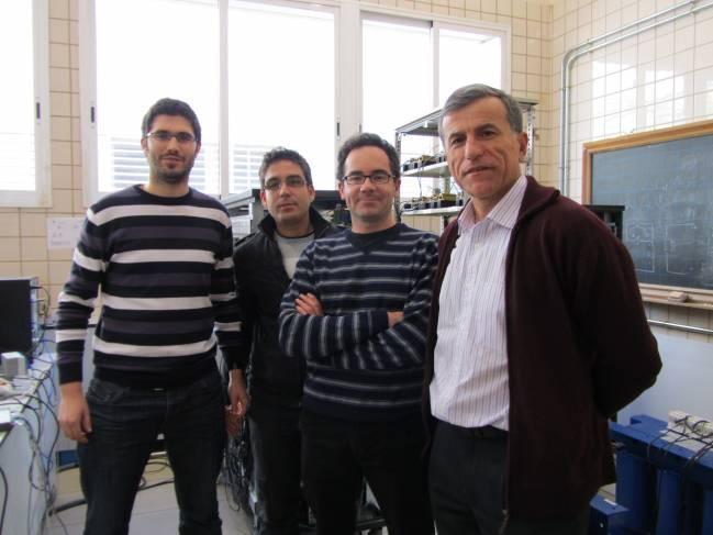 Investigadores del grupo Sistemas eléctricos de potencia de la Universidad de Sevilla.