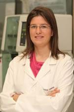 La química Asun Parra.