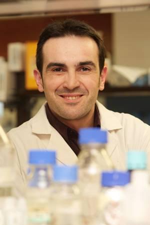 El investigador David García.