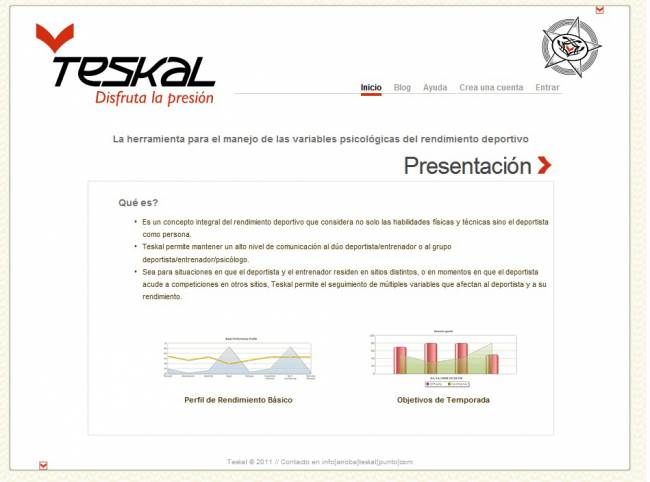 Imagen de la herramienta Teskal.