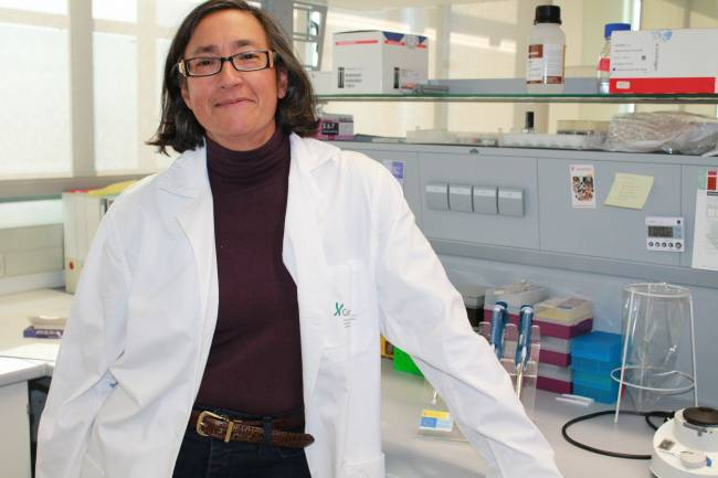 La investigadora de GENYO Marta Alarcón Riquelme.