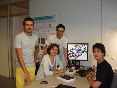 Miembros del grupo de investigación SQPBIO del PCB