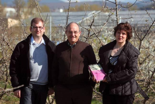 Autores libro El manzano autóctono de Navarra